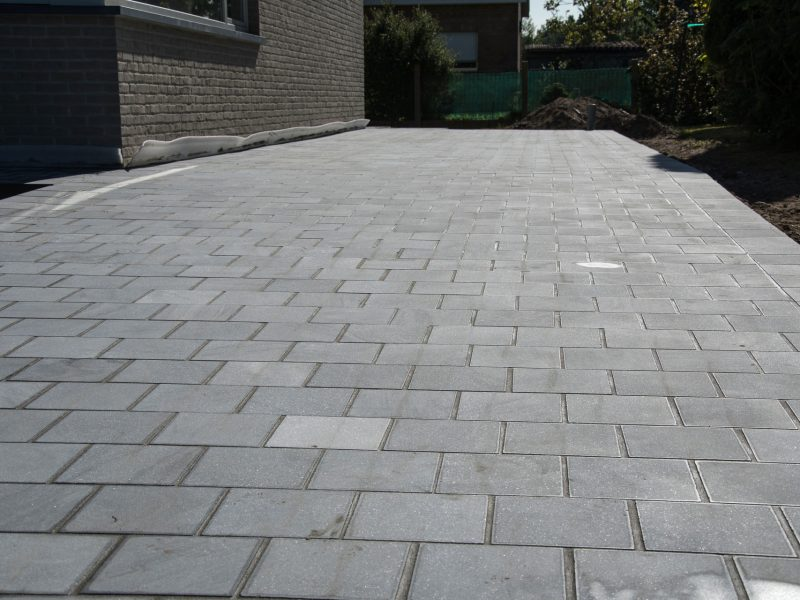 David Achiel - Oprit, pad, terras natuursteen